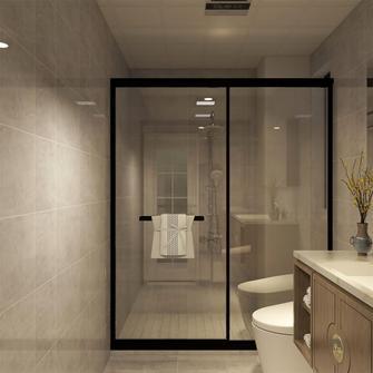 15-20万140平米三室一厅中式风格卫生间装修案例