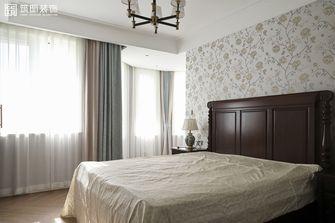 140平米公寓中式风格卧室设计图