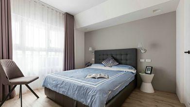 富裕型100平米四室一厅北欧风格卧室装修图片大全