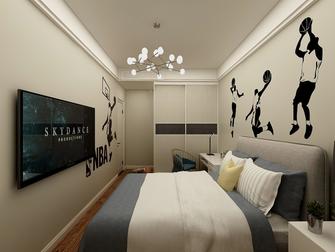 15-20万120平米三室一厅轻奢风格卧室设计图