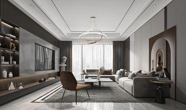 15-20万130平米公寓轻奢风格客厅欣赏图