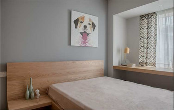 豪华型100平米三室两厅日式风格阳光房欣赏图
