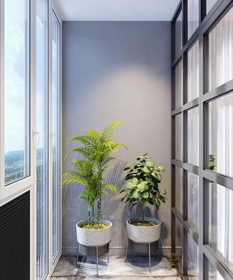 豪华型100平米三轻奢风格阳台效果图