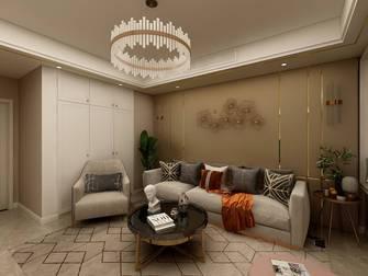 15-20万120平米三室一厅轻奢风格客厅装修案例
