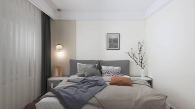经济型140平米三室两厅现代简约风格卧室设计图