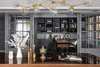 富裕型110平米一室两厅美式风格书房效果图