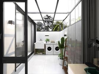 豪华型100平米北欧风格阳台图