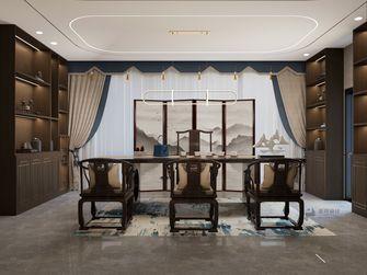 140平米四室两厅中式风格书房欣赏图