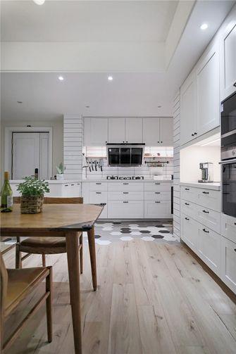 10-15万110平米三室三厅轻奢风格厨房装修效果图