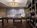 10-15万110平米三室一厅中式风格书房欣赏图