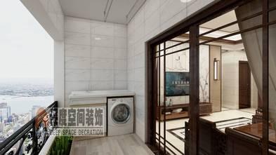 经济型120平米三室两厅中式风格阳台图片