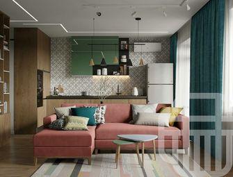 富裕型70平米一室两厅北欧风格客厅欣赏图