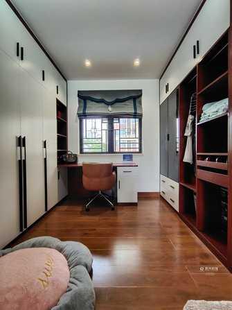 豪华型140平米别墅中式风格衣帽间装修案例