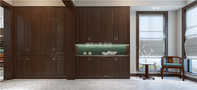 5-10万140平米四室两厅中式风格走廊欣赏图