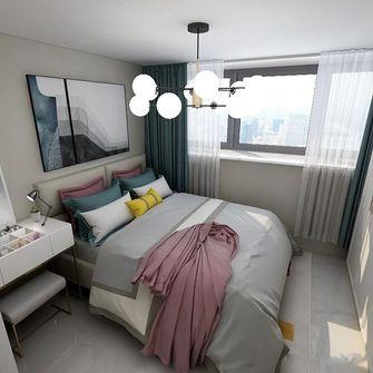 3-5万60平米现代简约风格卧室效果图