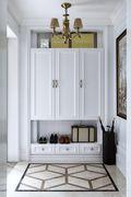 经济型110平米三室一厅法式风格客厅设计图