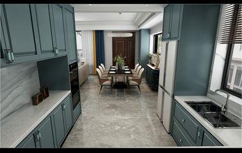 140平米别墅港式风格厨房装修案例