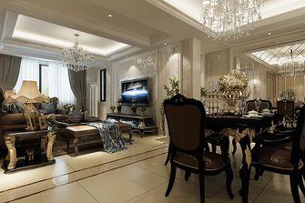 豪华型140平米四室一厅欧式风格餐厅装修图片大全