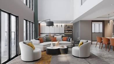 经济型100平米法式风格客厅装修图片大全