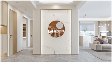 豪华型140平米复式现代简约风格玄关装修图片大全