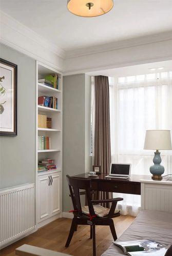130平米三室两厅美式风格书房装修效果图