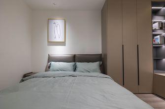 豪华型100平米三现代简约风格卧室欣赏图