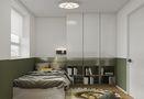 富裕型120平米三室一厅现代简约风格书房装修图片大全