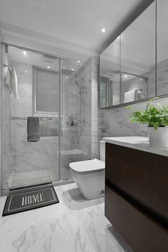 140平米四室一厅现代简约风格卫生间设计图