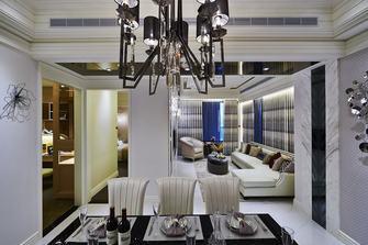 豪华型130平米三新古典风格客厅欣赏图
