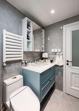 3-5万80平米公寓美式风格卫生间效果图