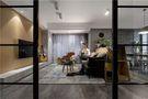 经济型100平米三室一厅现代简约风格走廊效果图