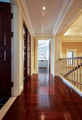 20万以上140平米复式美式风格走廊效果图