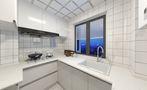 3-5万50平米现代简约风格厨房图