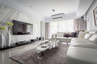 富裕型90平米三室两厅欧式风格客厅装修效果图