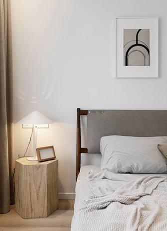 80平米三室一厅日式风格卧室图