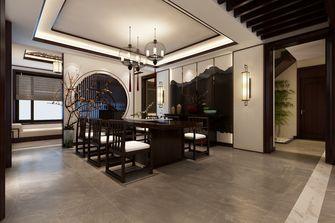 豪华型140平米别墅中式风格餐厅装修案例