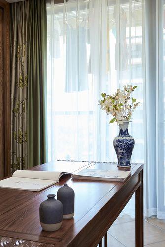 富裕型一室一厅中式风格书房装修图片大全