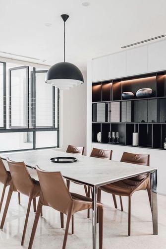 经济型130平米四室两厅现代简约风格餐厅装修效果图