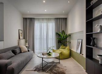 经济型80平米三室两厅现代简约风格走廊欣赏图