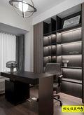 富裕型110平米三室两厅现代简约风格书房装修效果图