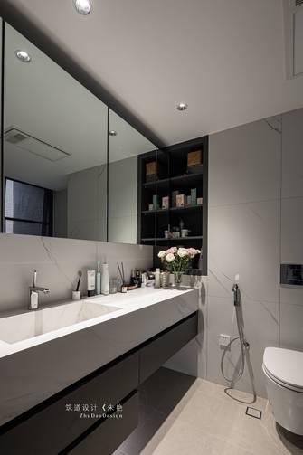 豪华型110平米三室三厅现代简约风格卫生间装修案例