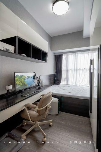 100平米三室两厅现代简约风格影音室装修图片大全