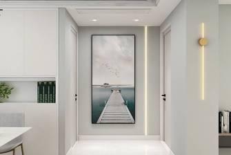 5-10万100平米现代简约风格走廊图