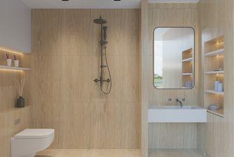 50平米一室一厅日式风格卫生间图片大全