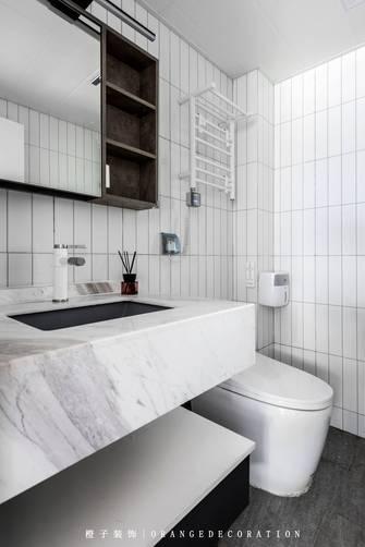 3万以下80平米三室两厅北欧风格卫生间装修图片大全