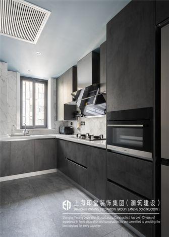 富裕型60平米工业风风格厨房装修图片大全