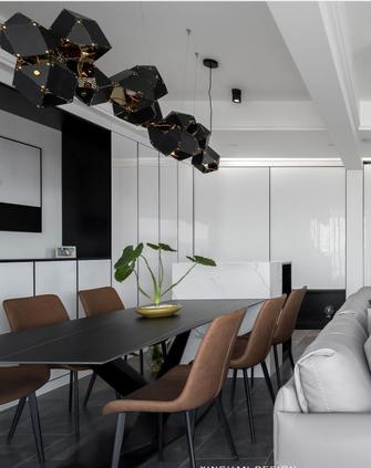 富裕型140平米三轻奢风格餐厅图