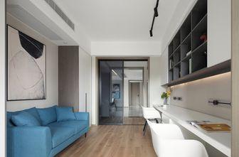 豪华型140平米三室一厅现代简约风格书房设计图