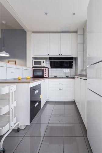 富裕型100平米四北欧风格厨房欣赏图
