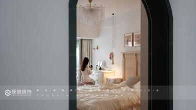 豪华型120平米三室两厅法式风格卧室图